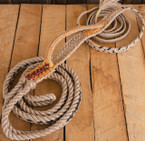 "Signature Series Bull Rope  (9x7, 3/4"" full lace handle, 3/4"" soft tail)"