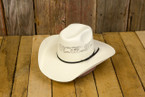 The classic cowboy look! Youth cattleman shape cowboy hat