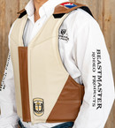 Custom Saddle Bronc Riding Vest Tan/Bone