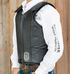 PR8 Leather Bull Riding Vest