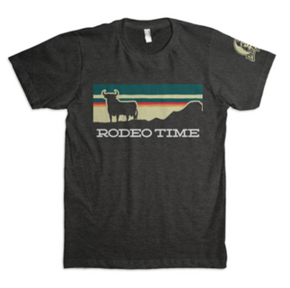 Rodeo Time Sunset T-Shirt