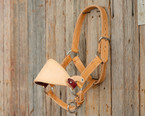 Leather Jr. Bronc Halter