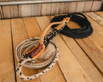 "Colored Brazilian Series Bull Rope - 7/8"" handle 1""Soft Tail"