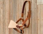 Adult Leather Saddle Bronc Halter
