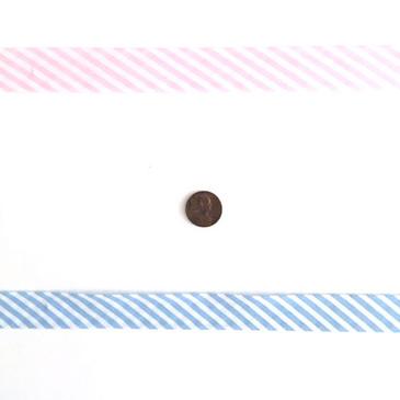 Stripey Bias - Single Fold 2 cm Bias Binding Tape