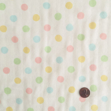 Sevenberry Pastel Dots Double Gauze