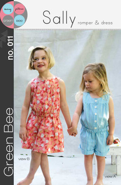 Green Bee (Alexia Abegg) - Sally Romper and Dress