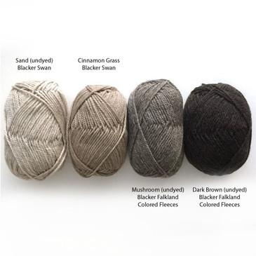 Blacker Breeds - Falkland Islands Coloured Fleeces
