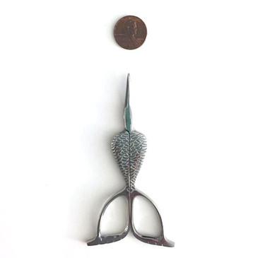 Silver Mermaid Scissors