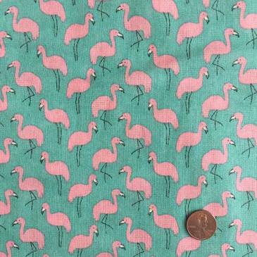 Hokkoh Flamingo Heavyweight Gauze - Turquoise