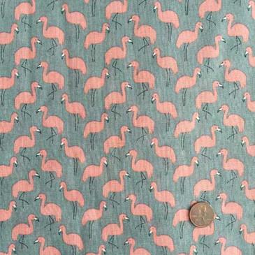 Hokkoh Flamingo Heavyweight Gauze - Gray