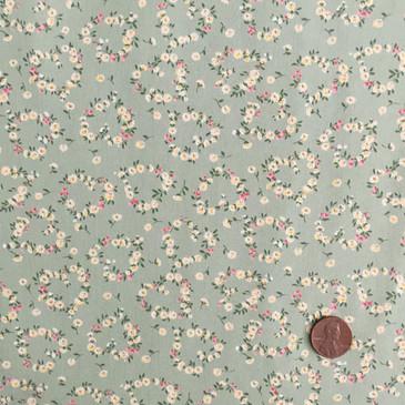 Sevenberry: Petite Fleurs Floral Garland (sage)