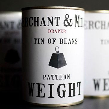 Merchant & Mills - Pattern Weight Label (Can of Beans NOT included)