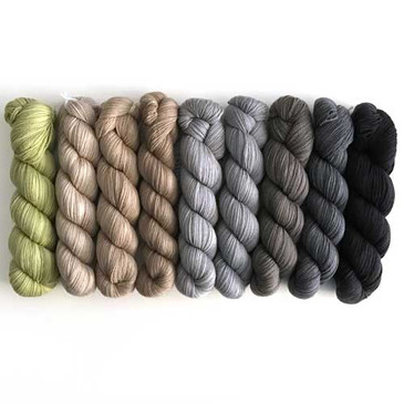 Rhichard Devrieze - Phantom - Semi-Solid Colours (Limited, Superfine Merino) (45g)