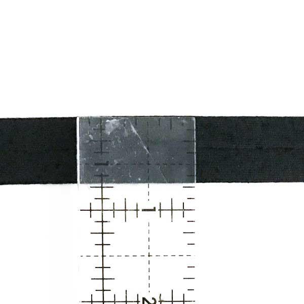 Cotton Fabric Folded Trim Navy Gingham Bias Binding 18mm