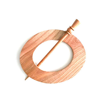 Oval Shawl Pin