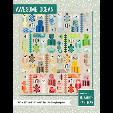 Elizabeth Hartman - Awesome Ocean Quilt