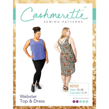 Cashmerette - Webster Top & Dress Pattern