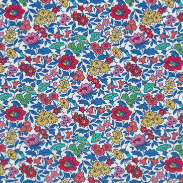 Liberty Favourite Flowers A-CW (Red Blue)