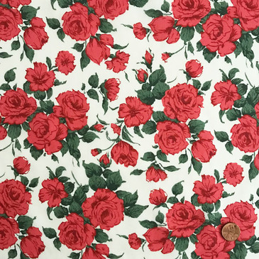 Liberty Carline Rose A (Red)