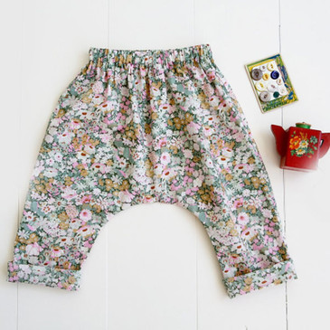 Wiksten - Baby + Toddler Harem Pants Sewing Pattern