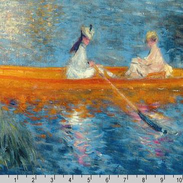 """Robert Kaufman: Renoir - Water PANEL (23"""")"""
