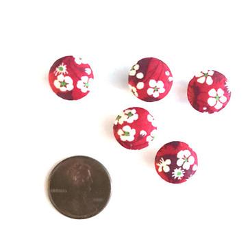 "Liberty Mitsi Valeria Red Button - 12 mm (~1/2"") - Exclusive!"