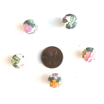 "Liberty Elysian Day Yellow Button - 12 mm (~1/2"") - Exclusive!"