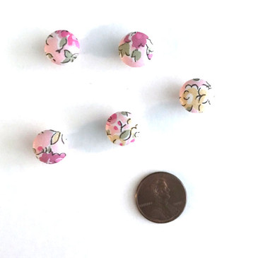 "Liberty Tatum Pink Button - 12 mm (~1/2"") - Exclusive!"