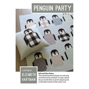 Elizabeth Hartman - Penguin Party Quilt and Pillow Pattern