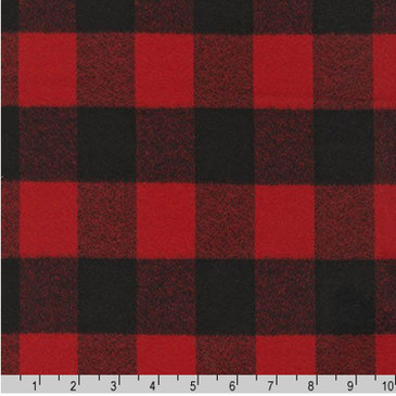 Robert Kaufman: Mammoth Flannel in Red
