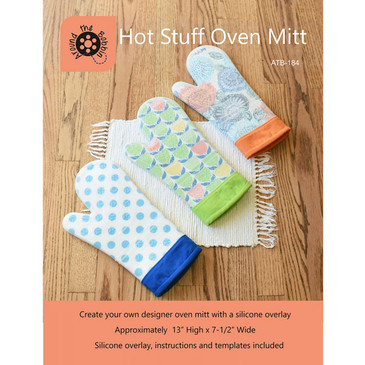 Around the Bobbin: Hot Stuff Oven Mitt