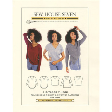 Sew House 7 - Tabor V Neck