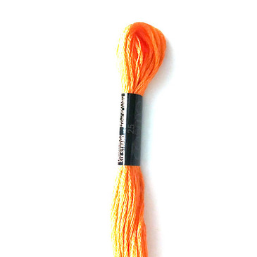 Cosmo - Cotton Embroidery Floss: 147 Vivid Orange