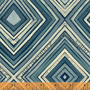Wonder by Carrie Bloomston - Zig Zag in Navy