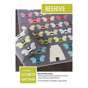 Elizabeth Hartman - Beehive Quilt and Pillow Pattern
