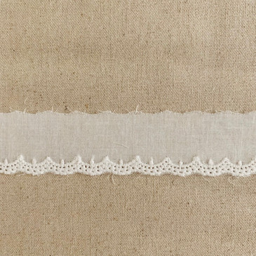 Delicate Scallop Lace Edging