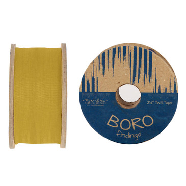 Boro Trim Twill Tape by Moda - Flax - 2.25""