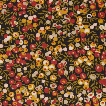 Liberty Wiltshire A - Black and Ochre