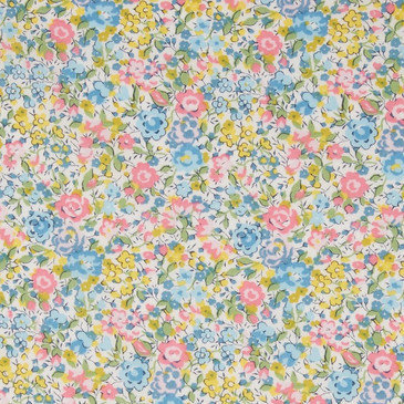 Liberty Emma Georgina B (Pale Yellow Blue and Pink)
