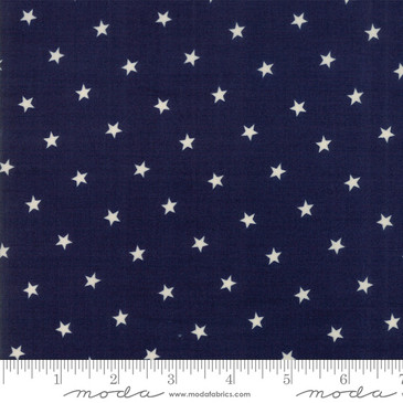 Moda Crystal Lake by Minick & Simpson - Stars in Indigo