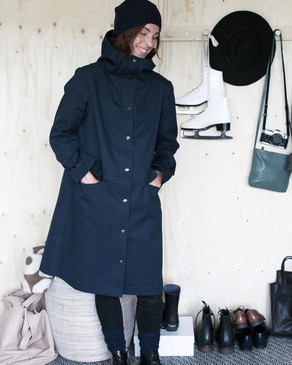 The Assembly Line Sweden - Hoodie Parka Pattern
