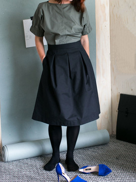 The Assembly Line Sweden - 3 Pleat Skirt Pattern