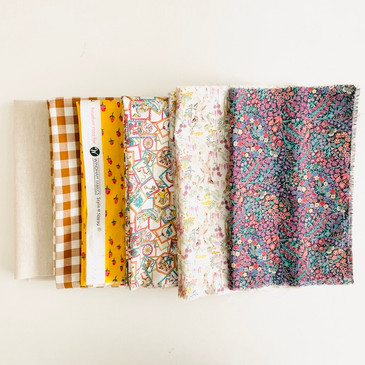 Olivia Jane Handcrafted Granny Square Quilt Kit: Marquess (6 pcs)