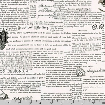 Robert Kaufman - Out of Print - Handwriting