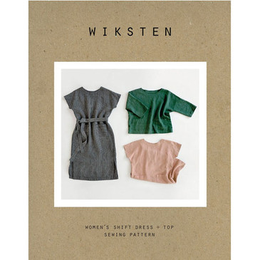 Wiksten - Women's Shift Dress +  Top Sewing Pattern
