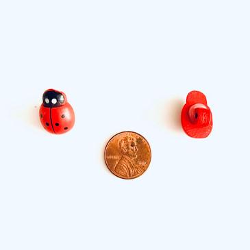Lady Bug Button