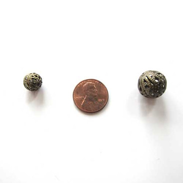 Filigree Bronze Ball (10mm or 16mm)