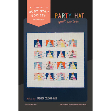 Ruby Star Society - Party Hat Quilt