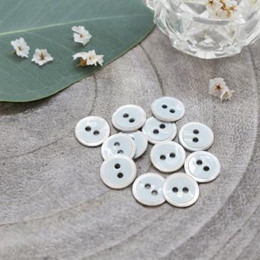 Atelier Brunette - Halo Button in Sage (10 mm)